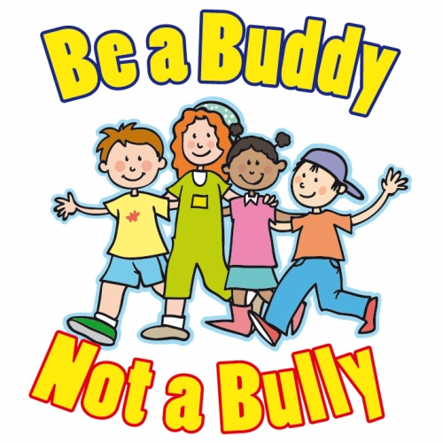 Image result for be a buddy not a bully